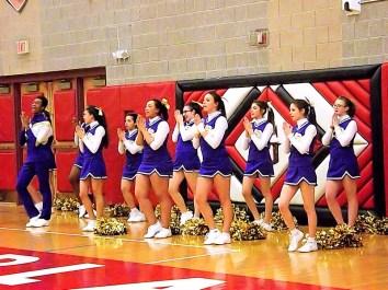 The AHS cheerleaders