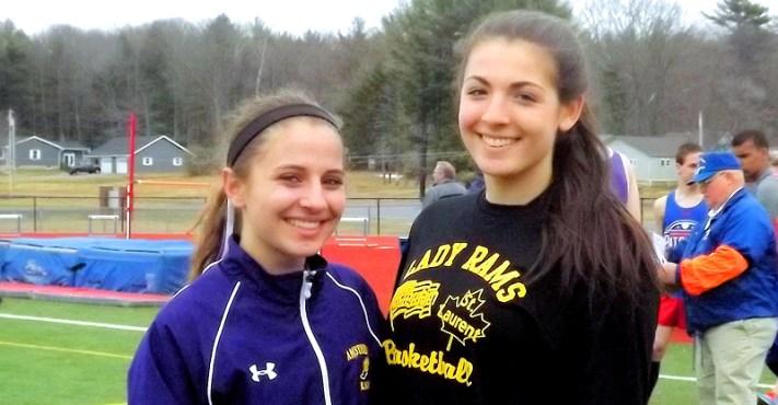 Emma Patrei (left) and Giuliana Pritchard (right)