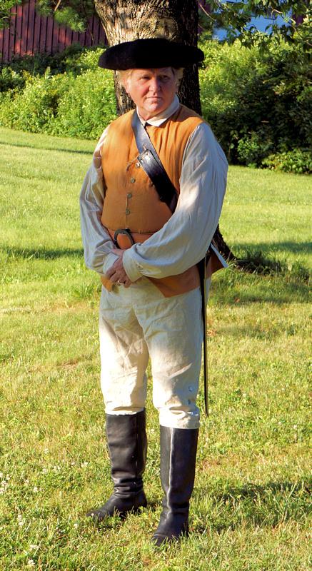 Don Jeffrey as General Herkimer
