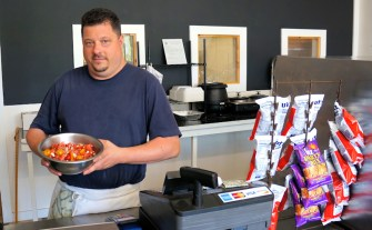 Phil Rossignol, owner of Southside Food Company. Photo by Tim Becker