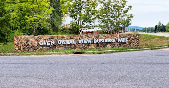Entrance to the Glen Canal View Business Park