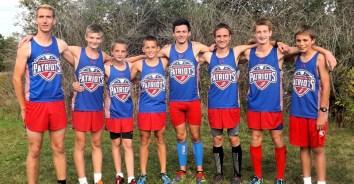 BPHS boys cross country team