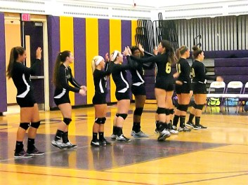 AHS team during introductions