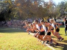 Start of girls race