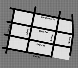 Target area of block grant