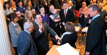 Michael Villa sworn in as mayor