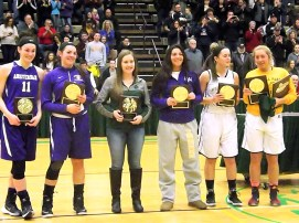 The Class A All Tournament team