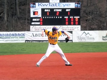 Ben Rhodes makes a play a shortstop