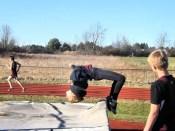 Sierra Fancher's back flip