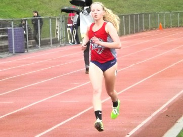 BPHS' Cadey Nolan in 3000 meter run