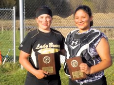 FFHS Sierra Rose, best JV defensive player, AHS' Ayana Cintron, best JV offensive player