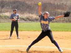 Emma pitching