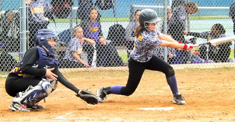 AHS softball holds on to defeat Johnstown on senior night