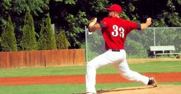Nick Schaub, the Mohawks starting pitcher