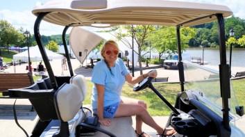 Riverfest Committee Chairwoman Brittany Kolbe