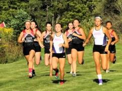 Olivia Lazarou (center) leads the way