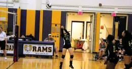 Krystal Dicaprio hitting the ball