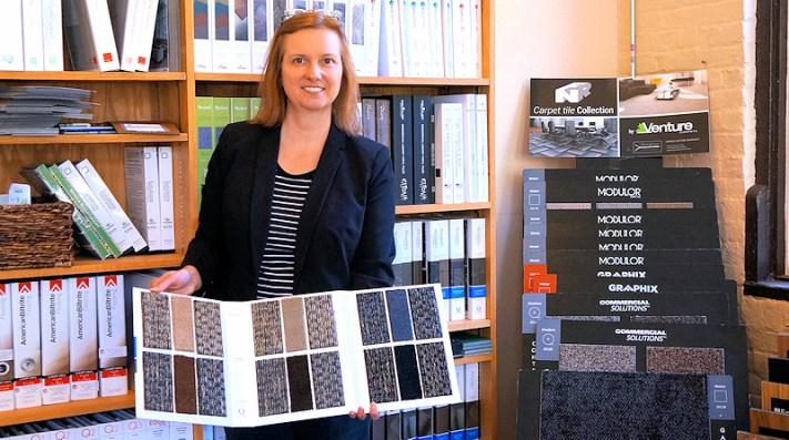 Flooring Authority Business Development Manager Rosalie Faber