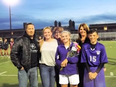 Courteney Bottisti and family