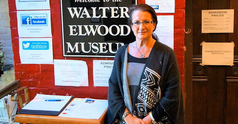 Ann Peconie talks about Walter Elwood museum's business and non-profit tenants