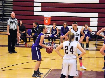 Grace Catena at the line