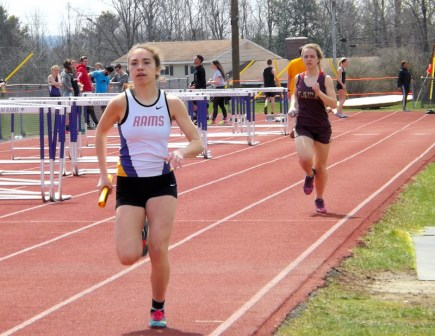 Olivia Lazarou leads Avery Cook