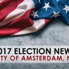 Who's running on party lines for the Amsterdam Common Council?