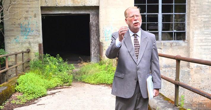 Rob von Hasseln, city historian