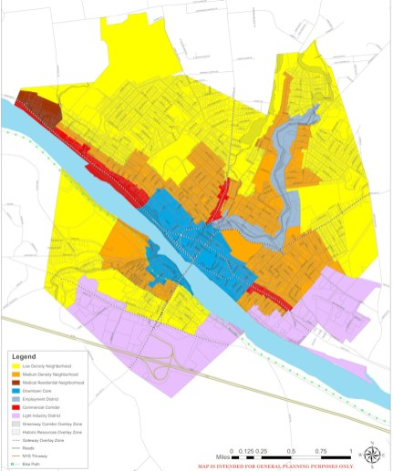 Proposed zoning map for City of Amsterdam