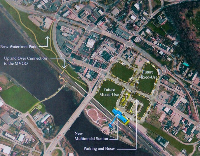 """Site 2B"" aerial view"