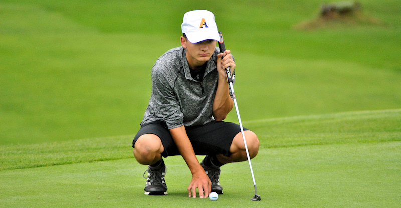 AHS golfers secure sectional slots during win against Gloversville