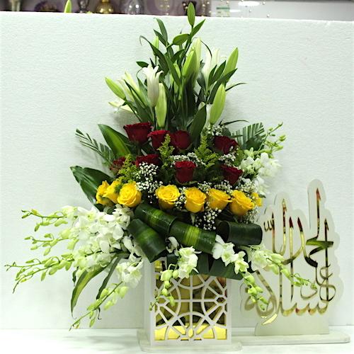 Get well soon written in Arabic 2 - SKUFLR08 - Online Gifts Delivery in  Dubai UAE
