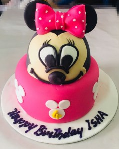 Minnie Mouse Cake - Online Gifts Delivery in Dubai UAE