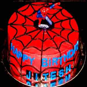 SPIDERMAN BIRTHDAY CAKE IN DUBAI