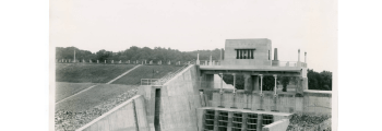 Completion of Charles Mill Dam