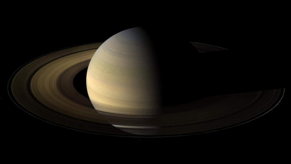 NASA's Cassini spacecraft burned up in Saturn's atmosphere on Friday, after 20 years in space. Pictured here: Saturn's Spring Equinox. Image: NASA.