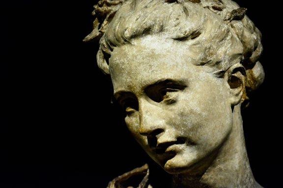 Roman Woman Ny Carlsberg Glyptotek Kopenhagen
