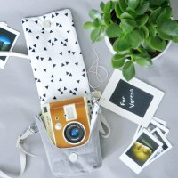DIY Kameratasche mit Geschenkanhänger