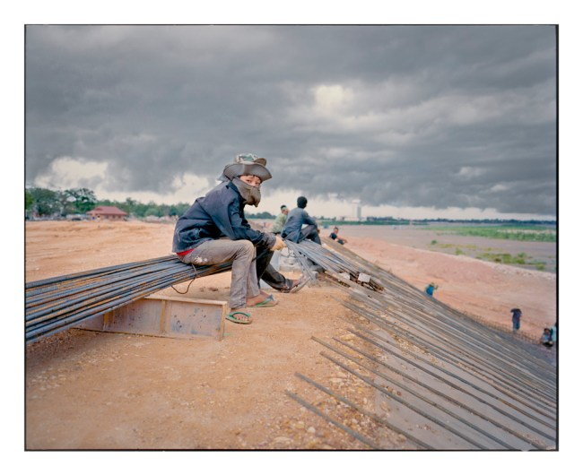 New Developments: Worker on Mekong