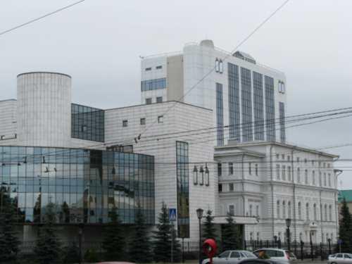 здание пфр УФА