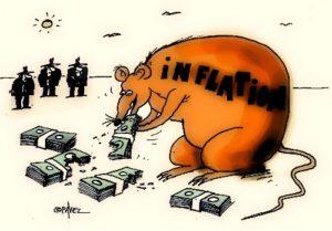 инфляция может съесть все деньги, но их можно защитить
