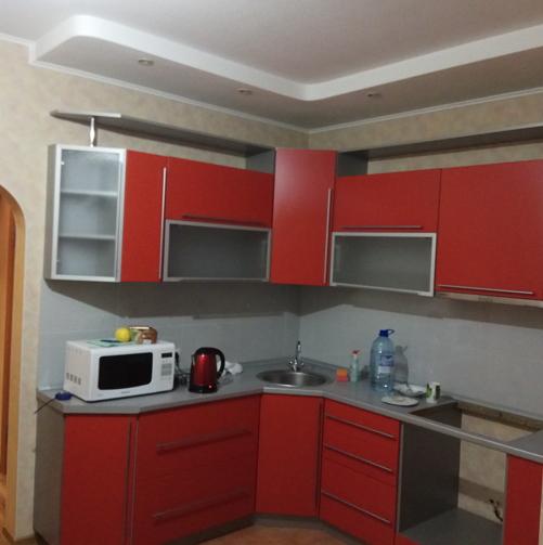 кухня от предыдущих хозяев квартиры