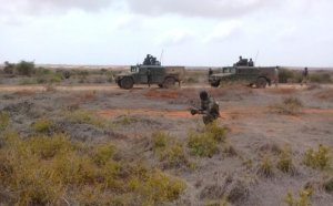 Somali, U.S. forces engage insurgents in support of the Federal Government of Somalia