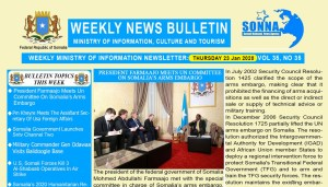 Weekly News Bulletin Vol 35