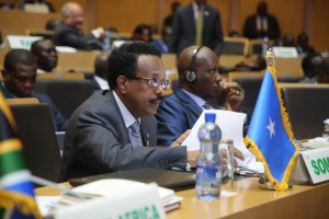 President Farmajo's speech at 33rd African Union Summit in Addis-ababa+pict