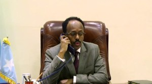 President Farmaajo, President Kenyatta hold telephone talks