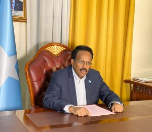President Farmajo Signs the Civil Aviation Act