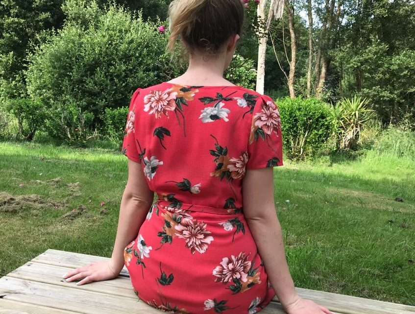 La petite robe rouge portefeuille