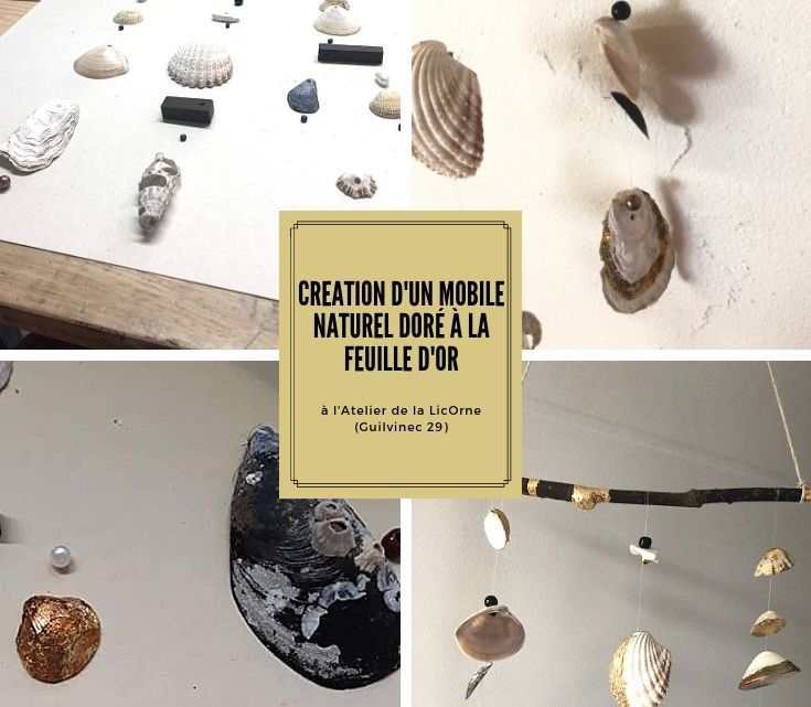 Création d'un mobile naturel à l'Atelier de la licOrne | moicestclo