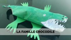 La famille croco